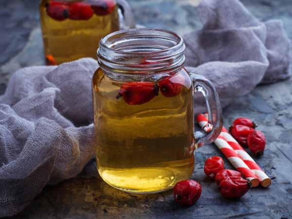 csipkebogyó tea hatásai