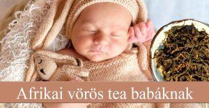 Afrikai vörös tea babáknak
