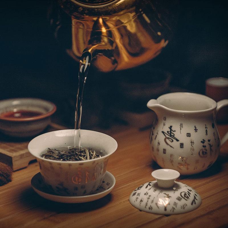 fehér tea elkészítése