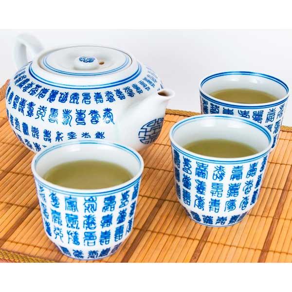 Szálas zöld tea elkészítése